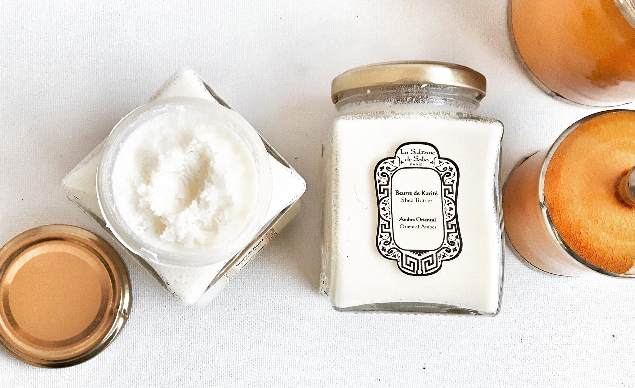 Beurres de Karité Fleur d'Oranger et Ambre Oriental La Sultane de Saba - Texture