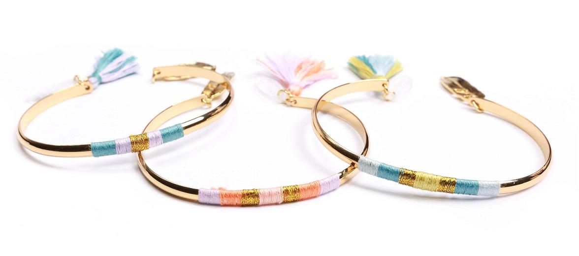 Trio de Bracelets Ame&Lys - Collection printemps-été Sunset Road disponible à partir du 29 février 2016
