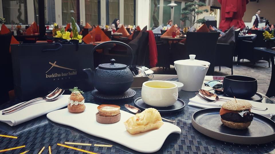 Tea Time de Sou : le Buddha-Bar Hotel Paris … entre culture asiatique et chic parisien …