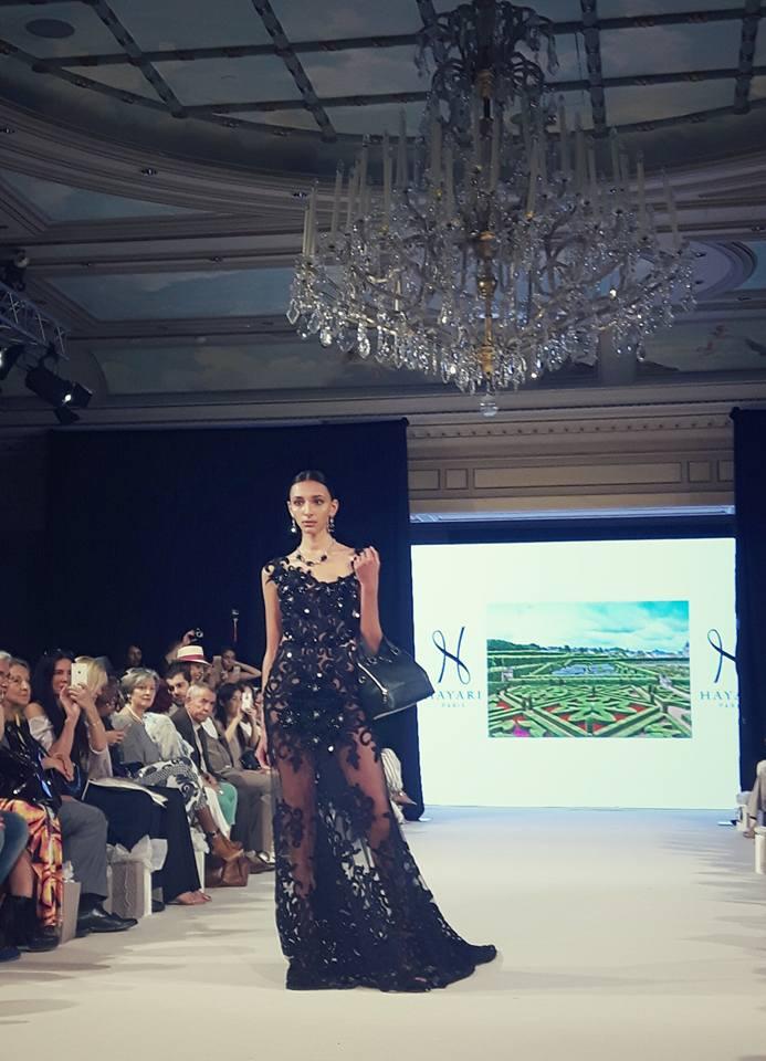 NABIL HAYARI, POUR HAYARI PARIS à l'Oriental Fashion Show - juillet 2016