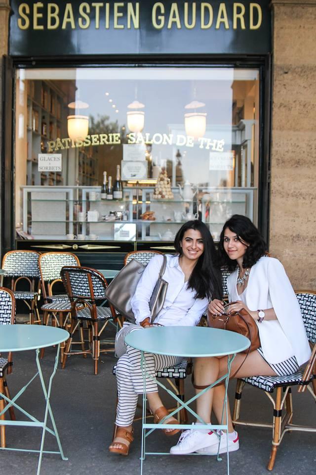 Le Tea Time de Sou chez Sebastien GAUDARD avec la blogueuse Flashbeauté - crédit photo Waffa El Yazid