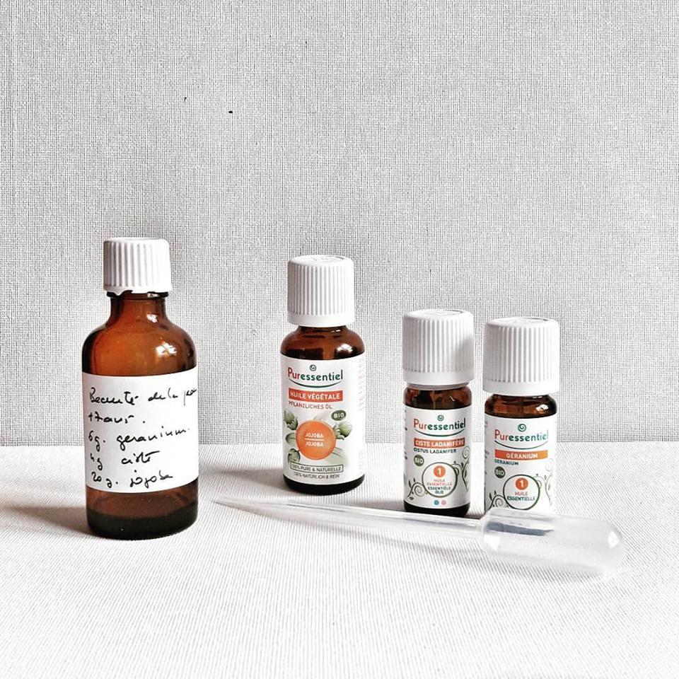 Recette Beauté de la peau  ( soins des peaux grasses et acnéiques)