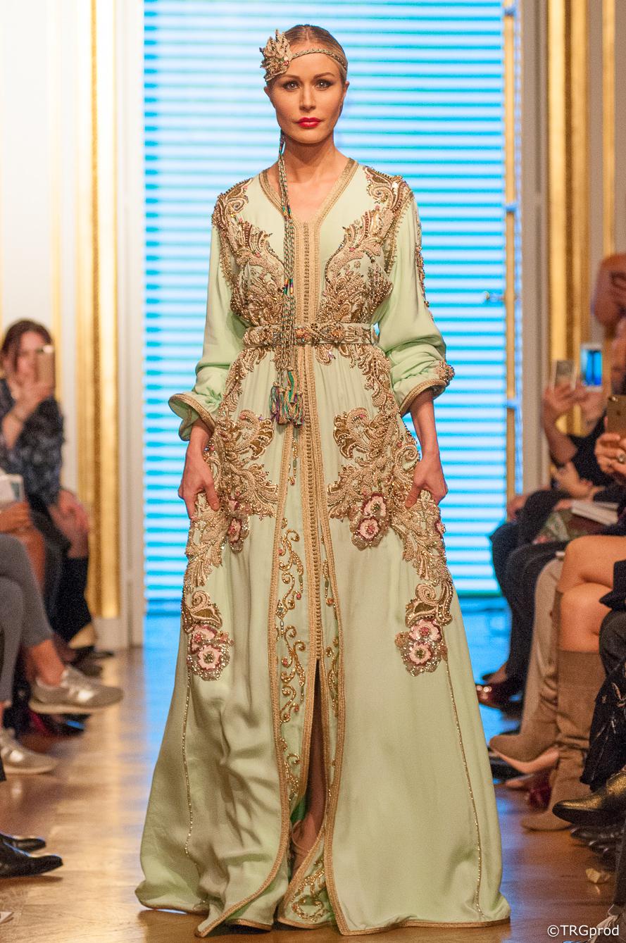 Oriental Fashion Show #23 – janvier 2018 – Fatima-Zohra IDRISSI