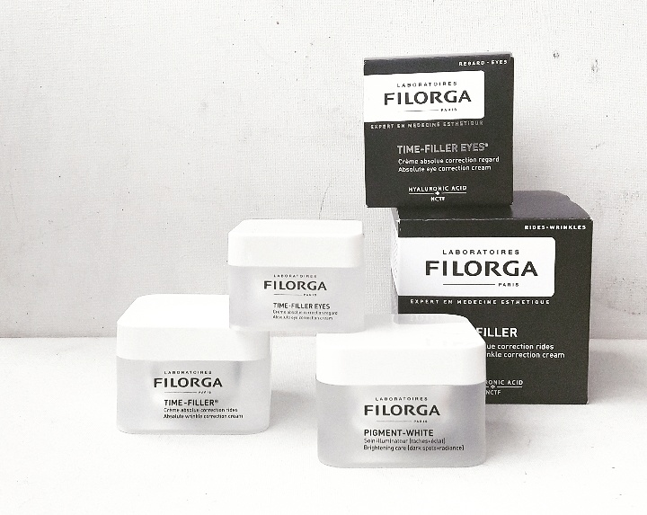 Programme Anti-Rides Visage & Yeux Time-Filler by Filorga !