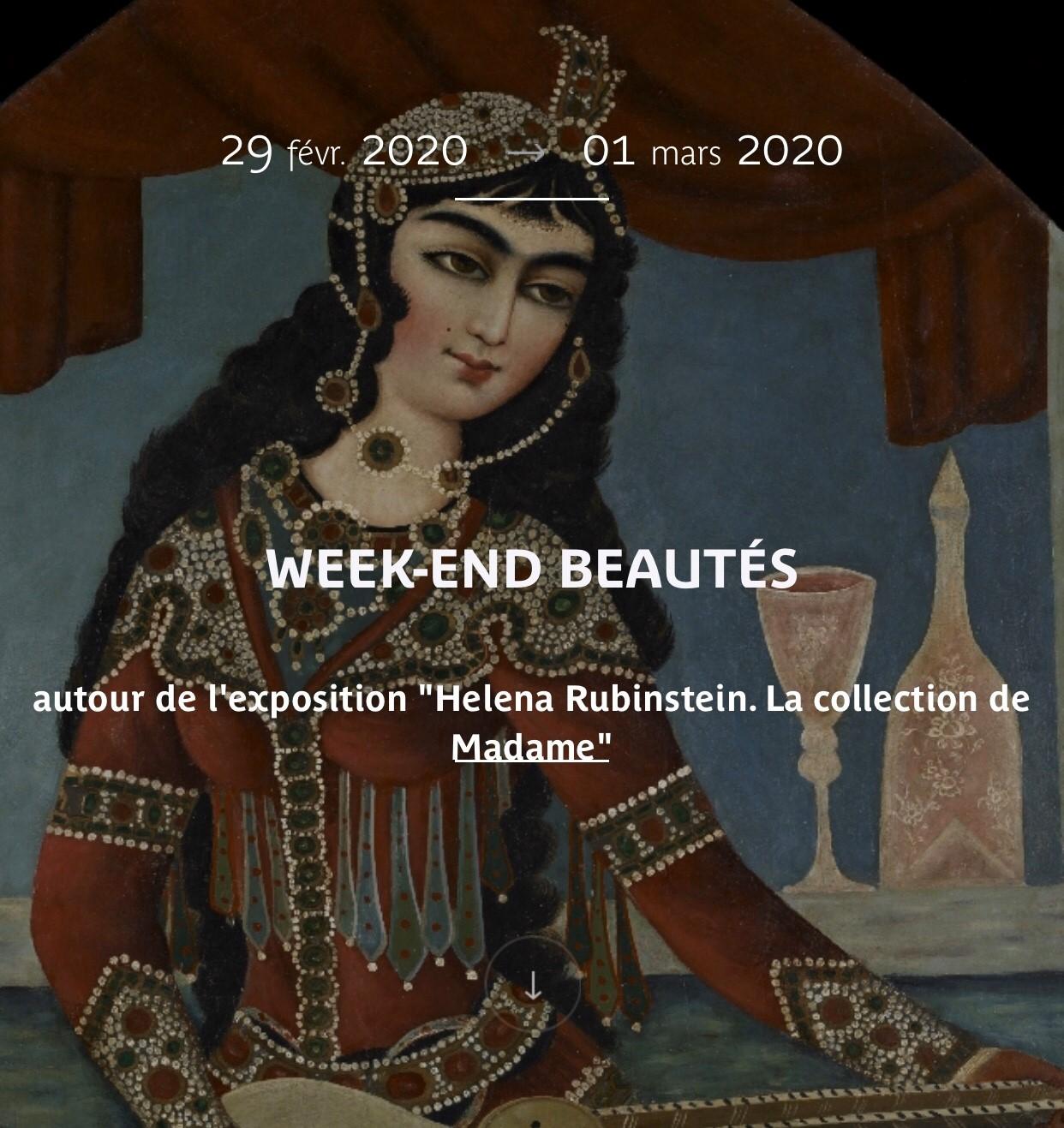 Week End Beautés - Helena Rubinstein