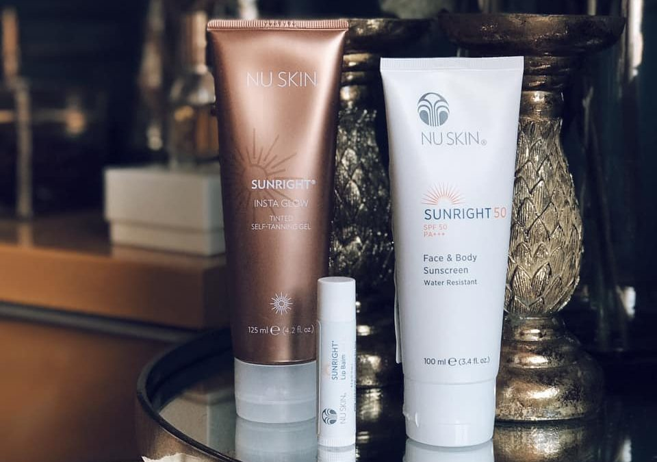 Nu Skin, protections solaires