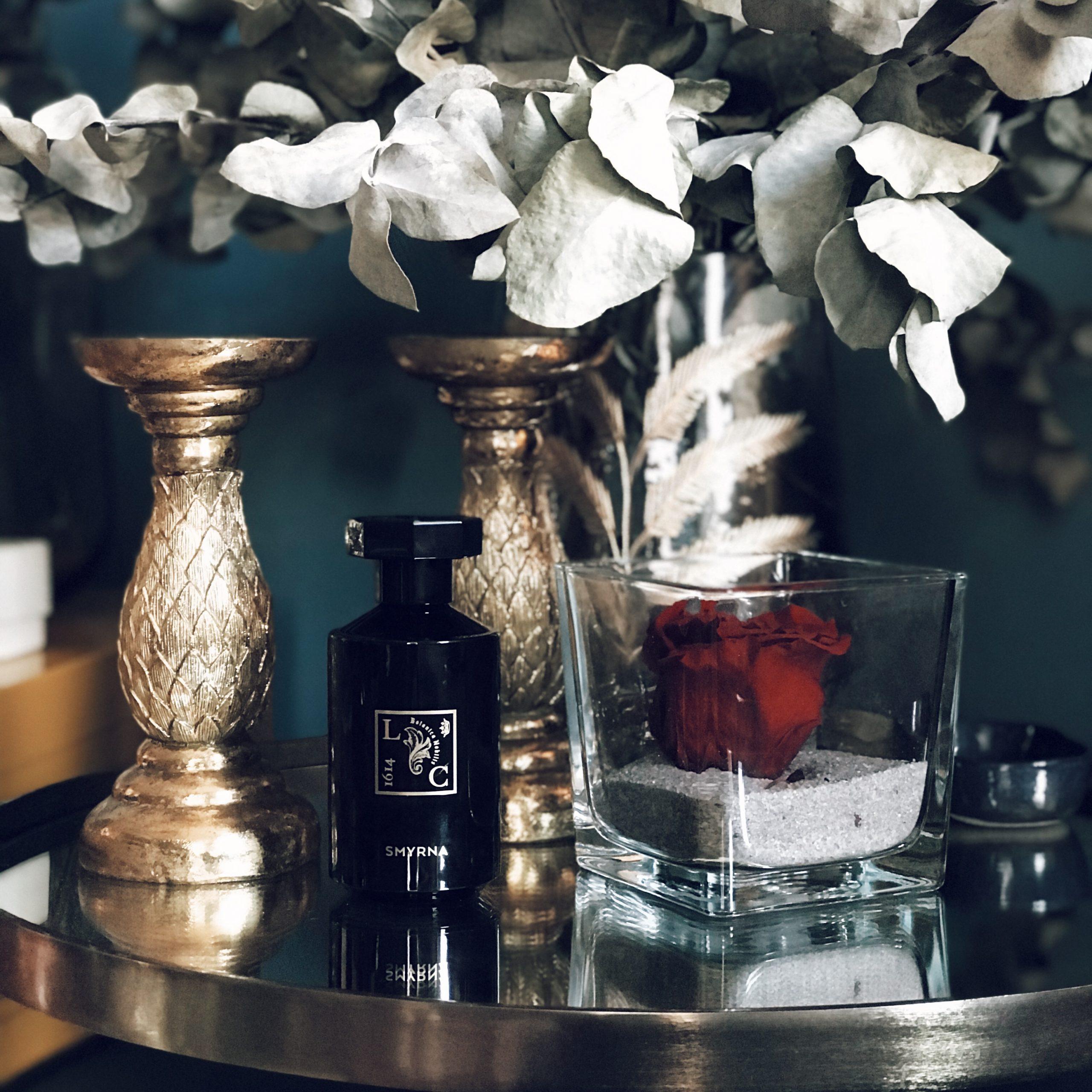 Parfum SMYRNA : Rose Turque et Poivre Noir