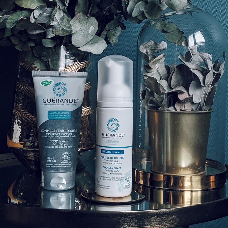 Mousse Nettoyante Visage et Corps Guerande Cosmetics