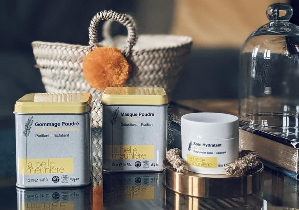La Belle Meunière, première ligne de soins cosmétiques aux céréales