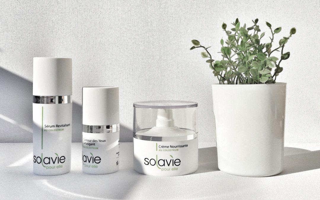 les cosmétiques 100% naturelle au Colostrum Solavie